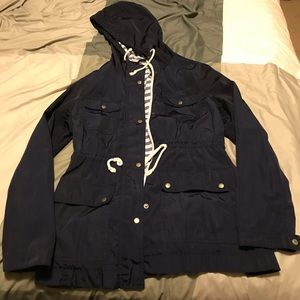 🎀 Navy Old Navy Raincoat